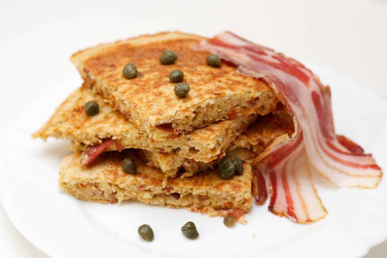Zobeni omlet sa pancetom